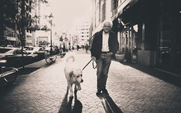 Περίπατος με σκύλο